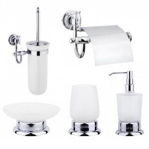 Аксессуары для ванной, душевой и туалета